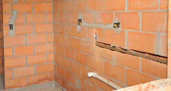 Encanamento em cobre p água quente  Moreira Construcoes # Encanamento De Banheiro Com Banheira